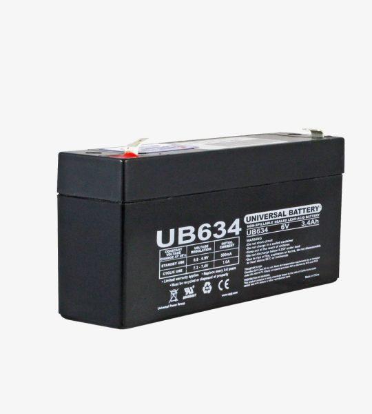 6 volt oplaadbare batterij Koi Cafe