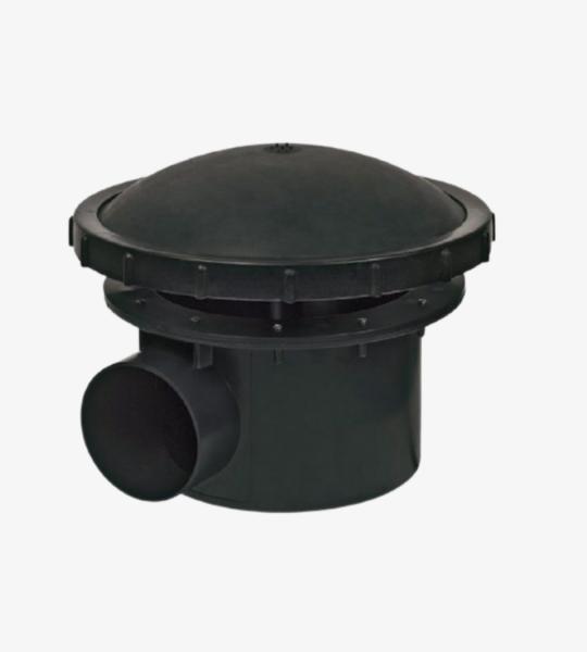 Bodemdrain 110 mm met beluchting