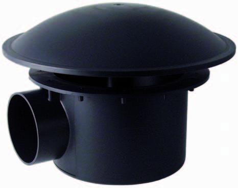 KoiHuis.nl-Bodemafvoer met kamer 110 mm zwaar model