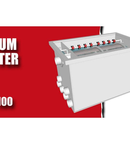 Aquaking Red Label Drumfilter 75/100